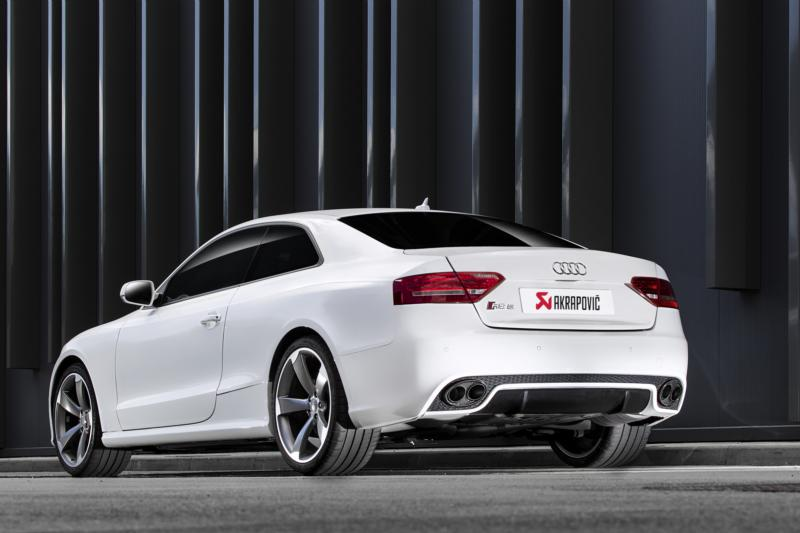 akrapovic duplex komplettanlage audi rs5 coupe f r audi a5. Black Bedroom Furniture Sets. Home Design Ideas