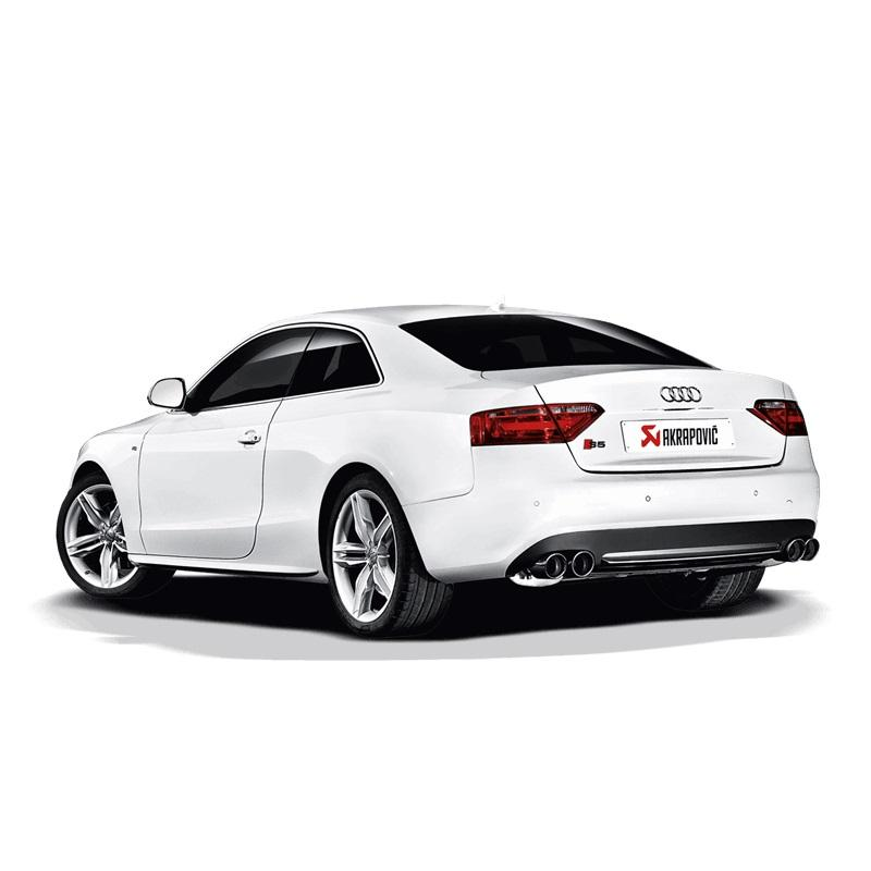 akrapovic sportauspuff audi s5 f r audi a5 typ b8 coup. Black Bedroom Furniture Sets. Home Design Ideas