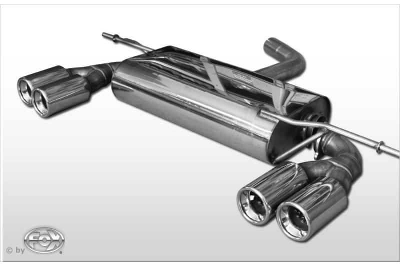 fox sportauspuff f r audi a3 typ 8p 2x 2x76mm typ 13. Black Bedroom Furniture Sets. Home Design Ideas