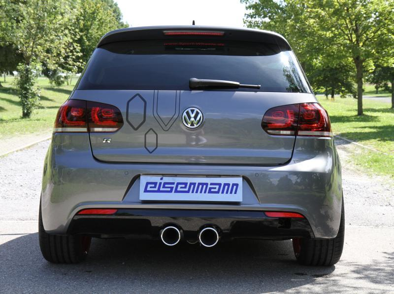 eisenmann sportauspuff f r volkswagen vw golf 6 2x102mm. Black Bedroom Furniture Sets. Home Design Ideas