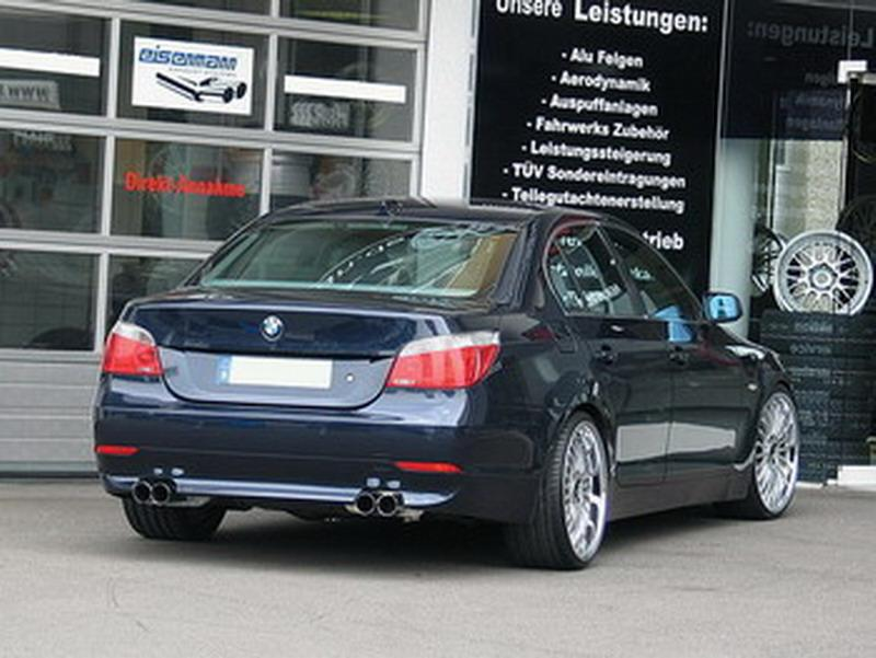 eisenmann sportauspuff f r bmw 530i typ e60 limousine. Black Bedroom Furniture Sets. Home Design Ideas