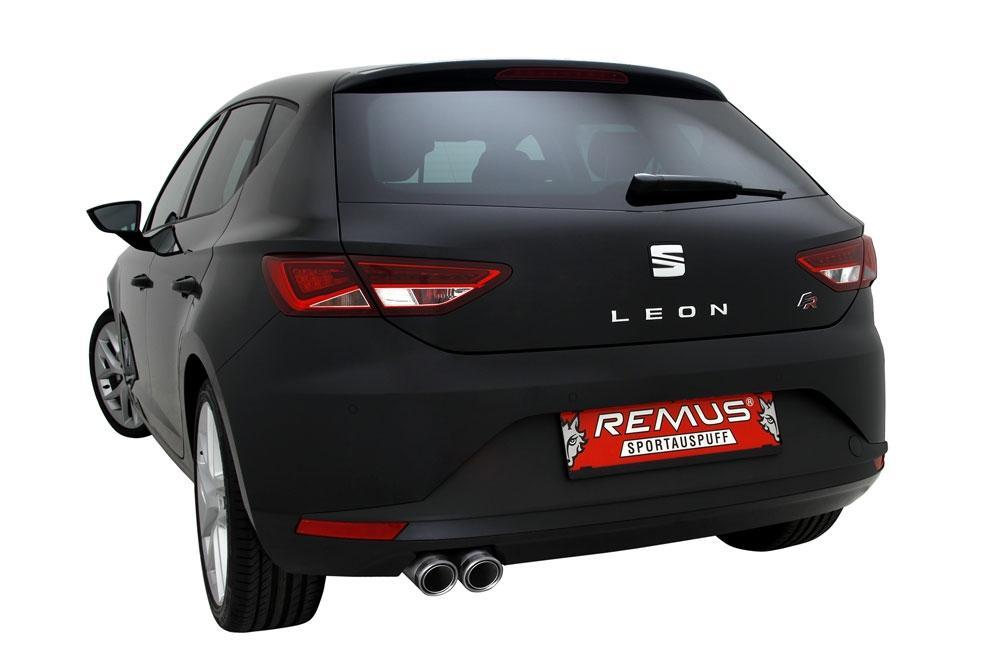 remus sportauspuff auspuff seat leon 5f 1 4l tsi ecomotive 2x84mm carbon race ebay. Black Bedroom Furniture Sets. Home Design Ideas