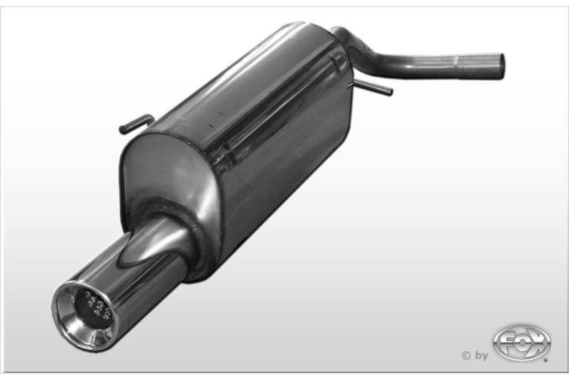 fox rennsportanlage f r volkswagen vw lupo 1x90mm typ 13. Black Bedroom Furniture Sets. Home Design Ideas