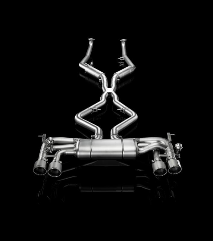 Bmw X6m 0 60: Akrapovic Rennsportanlage BMW X5M/X6M Für BMW X5 Typ E70
