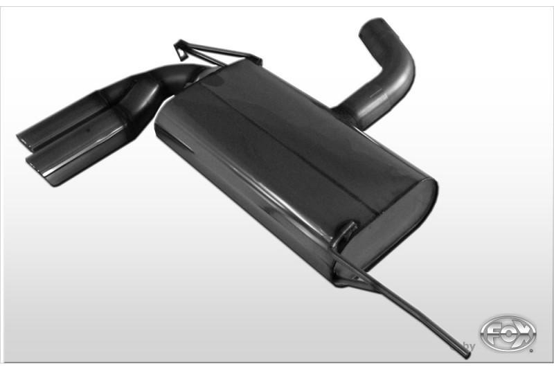 fox sportauspuff f r volkswagen vw golf 5 2x76mm typ 17. Black Bedroom Furniture Sets. Home Design Ideas