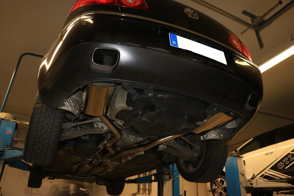 113007 für VW FOX AuspufftopfDämpfer ErnstEndschalldämpfer
