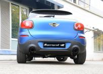 Supersprint Sportauspuff für Mini R61 Typ UKL-C/X (Paceman) 2x 1x100mm Black