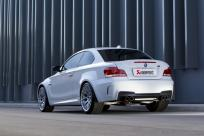 Akrapovic Sportauspuff BMW 1M Coupe für BMW 1M Typ E82 (Coupe) mit Sound Kit 2x 2x100mm Carbon